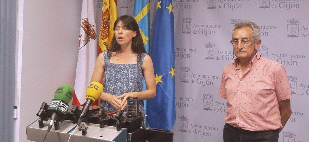 Laura Tuero, en rueda de prensa