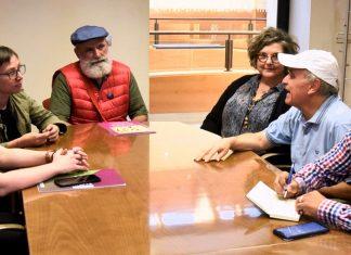 Reunión con la asociación Soldepaz Pachakuti