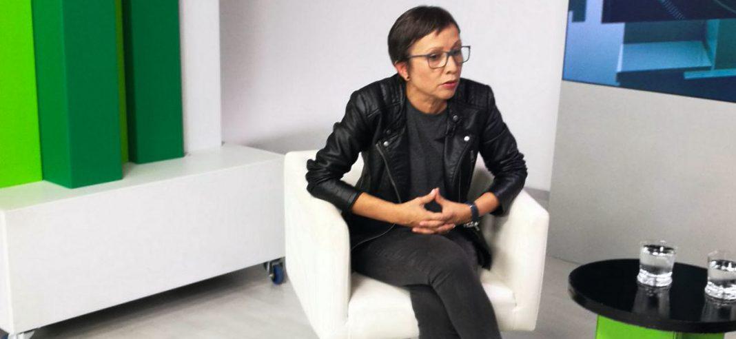Entrevista a Yolanda Huergo en Canal 10