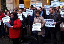 La FAV protesta frente el Ayuntamiento