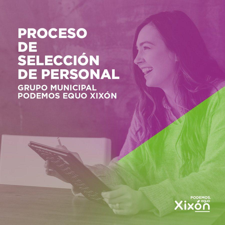 Abierto proceso selección personal Podemos Equo Xixón