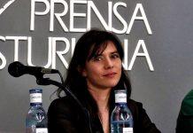 Laura Tuero en el Club de Prensa Asturiana