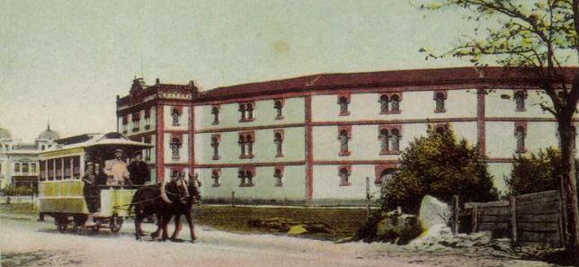 Plaza de toros de El Bibio, en el pasado
