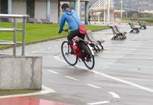 Carril bici en Poniente