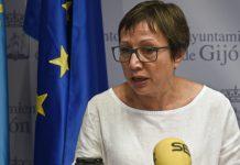 Yolanda Huergo en rueda de prensa