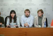 Rueda de prensa sobre los centros de Salud de Xixón