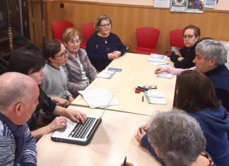 Reunión de Podemos-Equo con la asociación vecinal Jovellanos