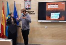 Yolanda Huergo y Daniel Ripa en rueda de prensa