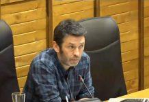 Juan Chaves, en el Pleno