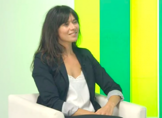 Laura Tuero Entrevista Canal10
