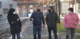 Reunión de Podemos-Equo Xixón con la asociación vecinal de La Camocha